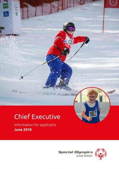 Special Olympics Great Britain job pack
