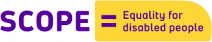 Scope – Equality For Disabled People logo