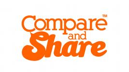 Compare and Share logo