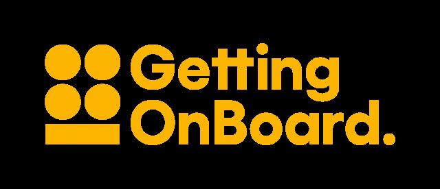 Getting On Board logo